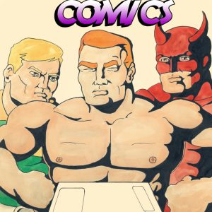 Naked Man Comics #2 Cover