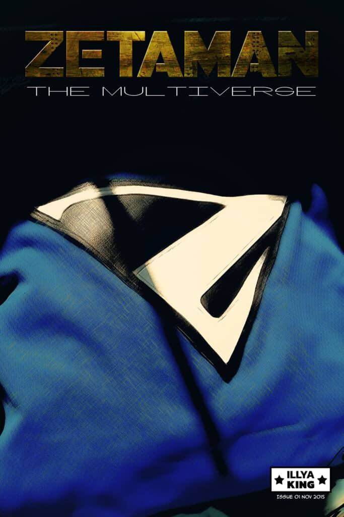 Cover to Zetaman the Multiverse