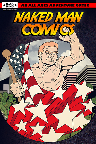 First issue of Naked Man Comics.