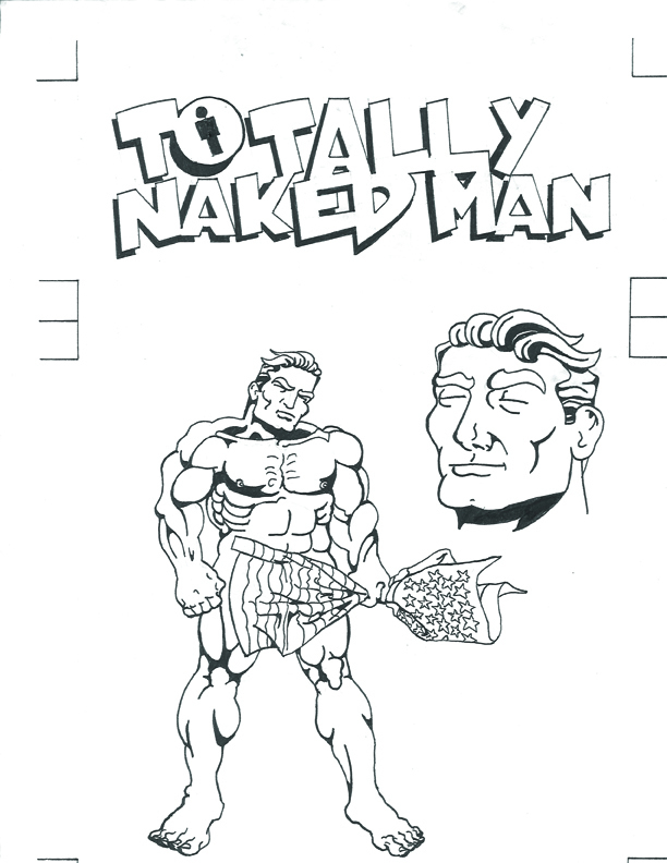 Totally Naked Man Promotonal Image