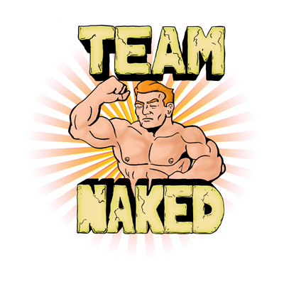 Team Naked Logo