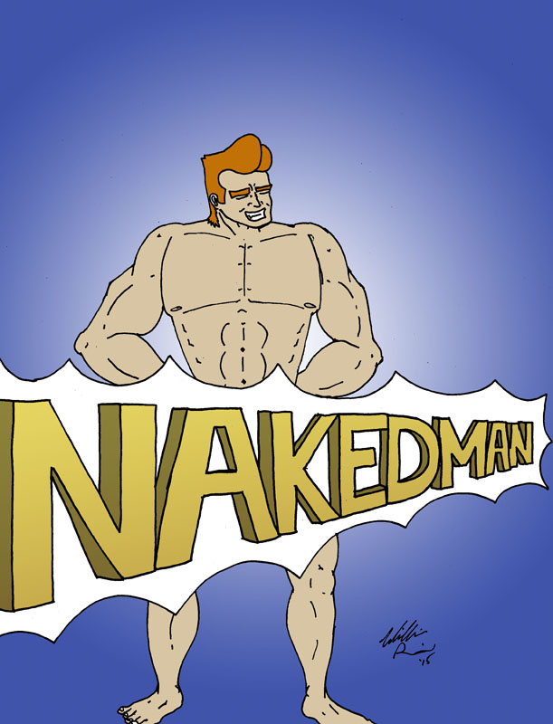 Totally Naked Man, by William Rail
