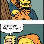 The Yellow Skull is about face the might of Ms. Max.